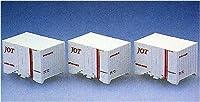 TOMIX Nゲージ UR18A-10000冷蔵コンテナ 3個 日本石油輸送 3119 鉄道模型用品