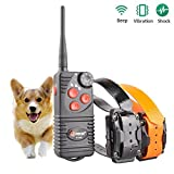 Aetertek AT-216 Professional Rechargeable 600 Yard Remote Dog Training Shock Collar,Beep ,Vibrate and 7 Levels Adjustable (Two dogs training system) by Aetertek