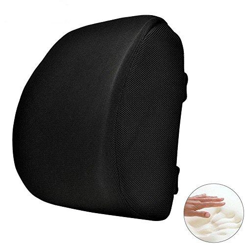 ランバーサポート KAIDI 低反発クッション 腰痛予防 姿勢矯正 形状記憶フォーム 骨盤サポート 腰まくら 腰 背中 の負担を軽減 オフィスチェア 椅子 座席ドライブ 運転クッション