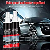 Awhao 2PCs Agent Spray for Car Glass Rainproof Agent Coating Front Windshield Waterproof Agent Anti-Fog Coating