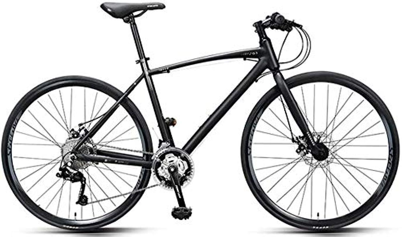 表面的なオレンジセンブランス30スピードロードバイク、大人コミューターバイク、軽量アルミロード自転車、700 * 25Cホイール、レーシング自転車のデュアルディスクブレーキ