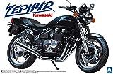 青島文化教材社 1/12 バイクシリーズ No.1 カワサキ ゼファー プラモデル