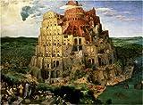 1000ピース バベルの塔(ピーテル・ブリューゲル)[世界最小ジグソー] TW-1000-803