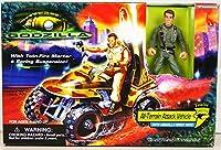 Godzilla All Terrain Attack Vehicle with Figure Playset