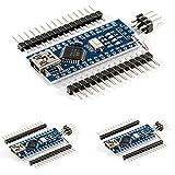 HiLetgo® 3個セット Mini USB Nano V3.0 ATmega328P CH340G 5V 16M マイクロコントローラーボード Arduinoと互換