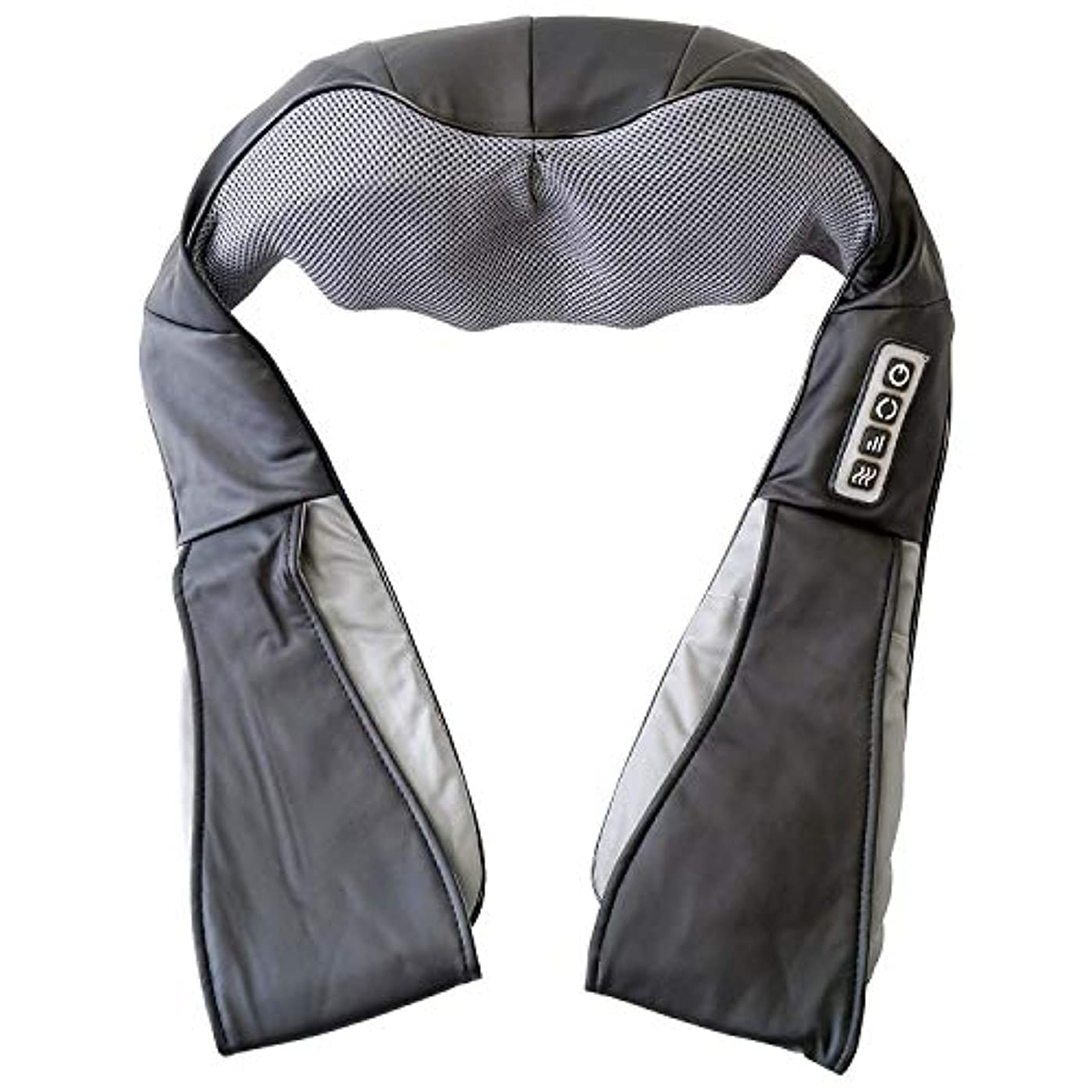 最適急勾配の買うGWM 充電式バッテリーベルトマッサージャーコードレス混成指圧赤外線ヒートセラピー(頚部肩用)アームハムストリングアンクルバック関節痛緩和