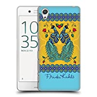 Official Frida Kahlo ペア ピーコック ハードバックケース Sony Xperia X Performance