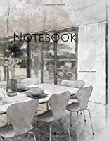 Notebook: interior sketch design drawing home architecture designing