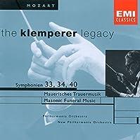 Symphonies 33 34 & 40 / Masonic Funeral Music K477 by Mozart (2004-05-19)
