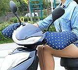 【三友記】通勤 スクーター バイク 手袋 オートバイ 防寒 スクーター専用防寒 ハンドルカバー セット 完全に指先を防風 防水 保暖 SM-149-ST