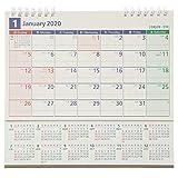 能率 NOLTY 2020年 カレンダー 卓上 22 B6変型 C223 ([カレンダー])