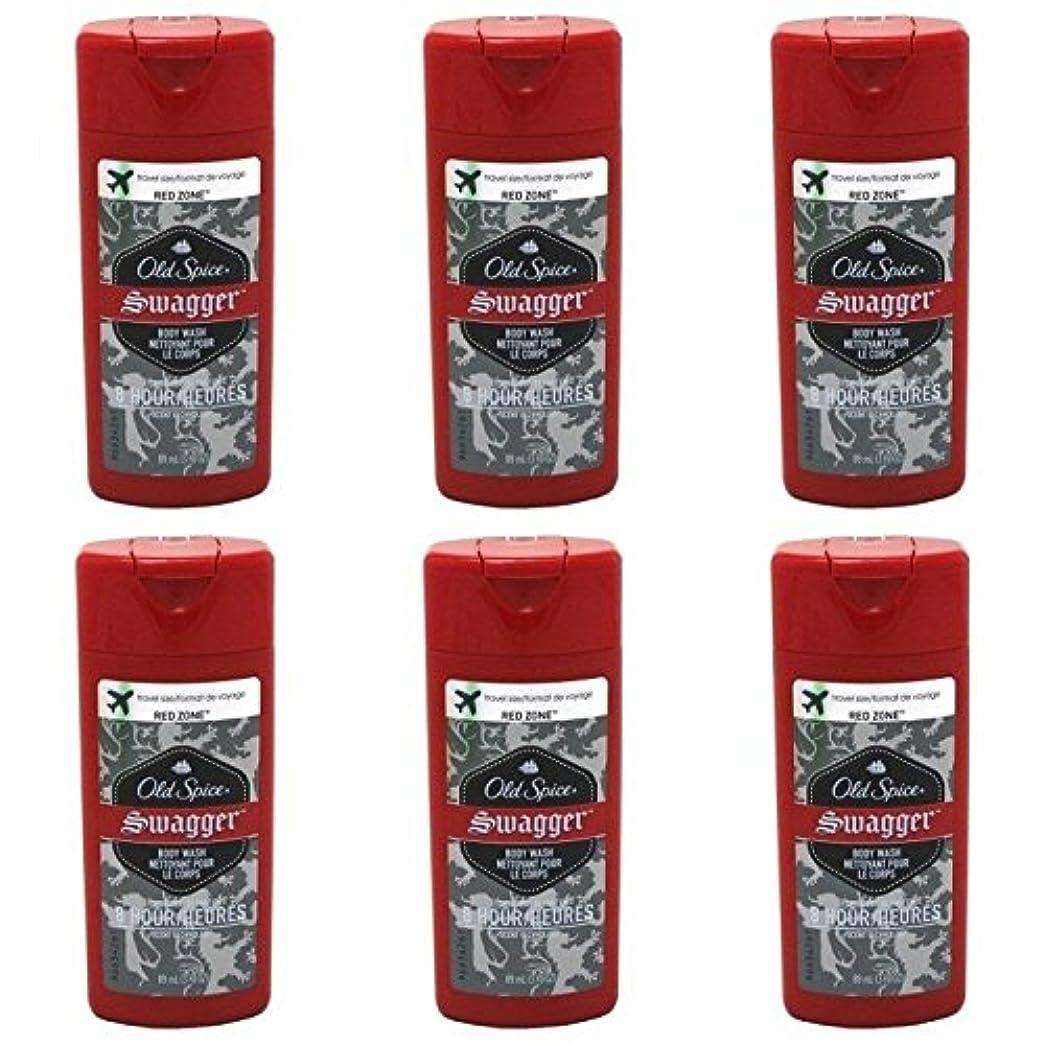つばポーター殉教者Old Spice Swagger Red Zone Body Wash Travel Size 3 Oz by Old Spice