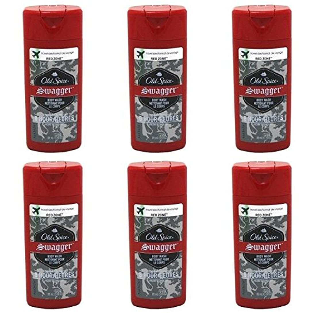 絞る落花生ブレスOld Spice Swagger Red Zone Body Wash Travel Size 3 Oz by Old Spice