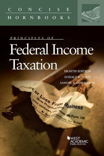 Download Principles of Federal Income Taxation (Concise Hornbook) 0314287868