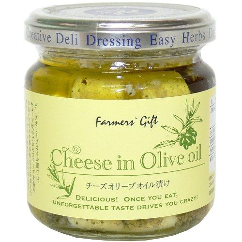 チーズオリーブオイル漬 ワインのお供 バゲット・サラダ・パスタのトッピング ドレッシング