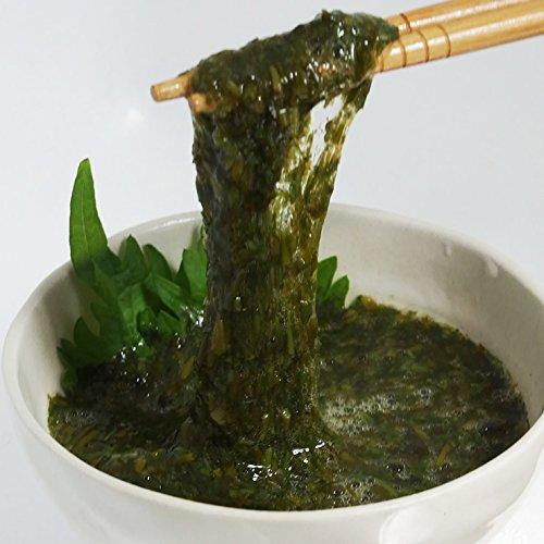 山陰産アカモク・ギバサ(味付・醤油味)(40g×10個入り)[冷凍]