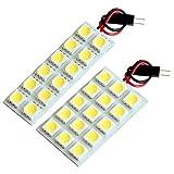 【断トツ81発!!】 DG64W スクラムワゴン(ハイルーフ) LED ルームランプ 2点セット [H17.9~H27.2] マツダ 基板タイプ 圧倒的な発光数 3chip SMD LED 仕様 室内灯 カー用品 HJO