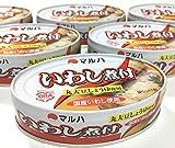 マルハ いわし味付 丸大豆しょうゆ使用 100g×6個