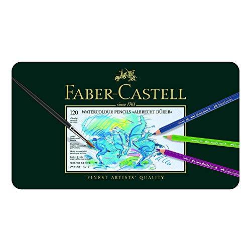 ファーバーカステル アルブレヒトデューラー水彩色鉛筆120色セット