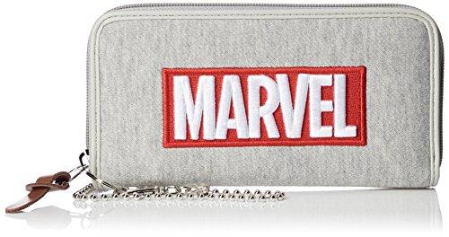 [해외][마블] 지갑 지갑 스웨터 MARVEL 마블 자수 로고 여성 남성 MV-WLT01/[Marvel] Wallet purse sweat MARVEL Marvel embroidery logo ladies` men`s MV-WLT 01