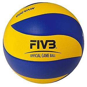 ミカサ バレーボール 国際公認球 検定球5号 FIVB(国際バレーボール連盟) 唯一の公式試合球 一般/大学/高校用 MVA200