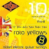 ROTOSOUND [ロトサウンド] R10-8 ROTO YELLOWS