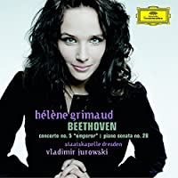 Beethoven: Piano Concerto No. 5, 'Emperor' /Piano Sonata No. 28 in A by Helen Grimaud (2007-10-09)
