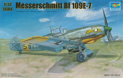 1/32 ドイツ軍 メッサーシュミット Bf109E-7