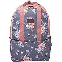 Lixada Backpack Lightweight Daypack Fashion Leisure Print Backpack for Teenager Girls Women School Outdoor Sports Travel Bag