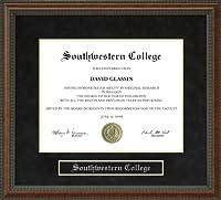 南西部College ( SC )卒業証書フレーム ks-sc-91-burl