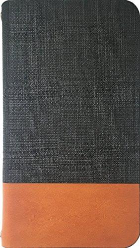 APPLE iPhone8 手帳型ケース 牛革 本革 高級 PU レザー 磁気カードの磁気不良防止機...