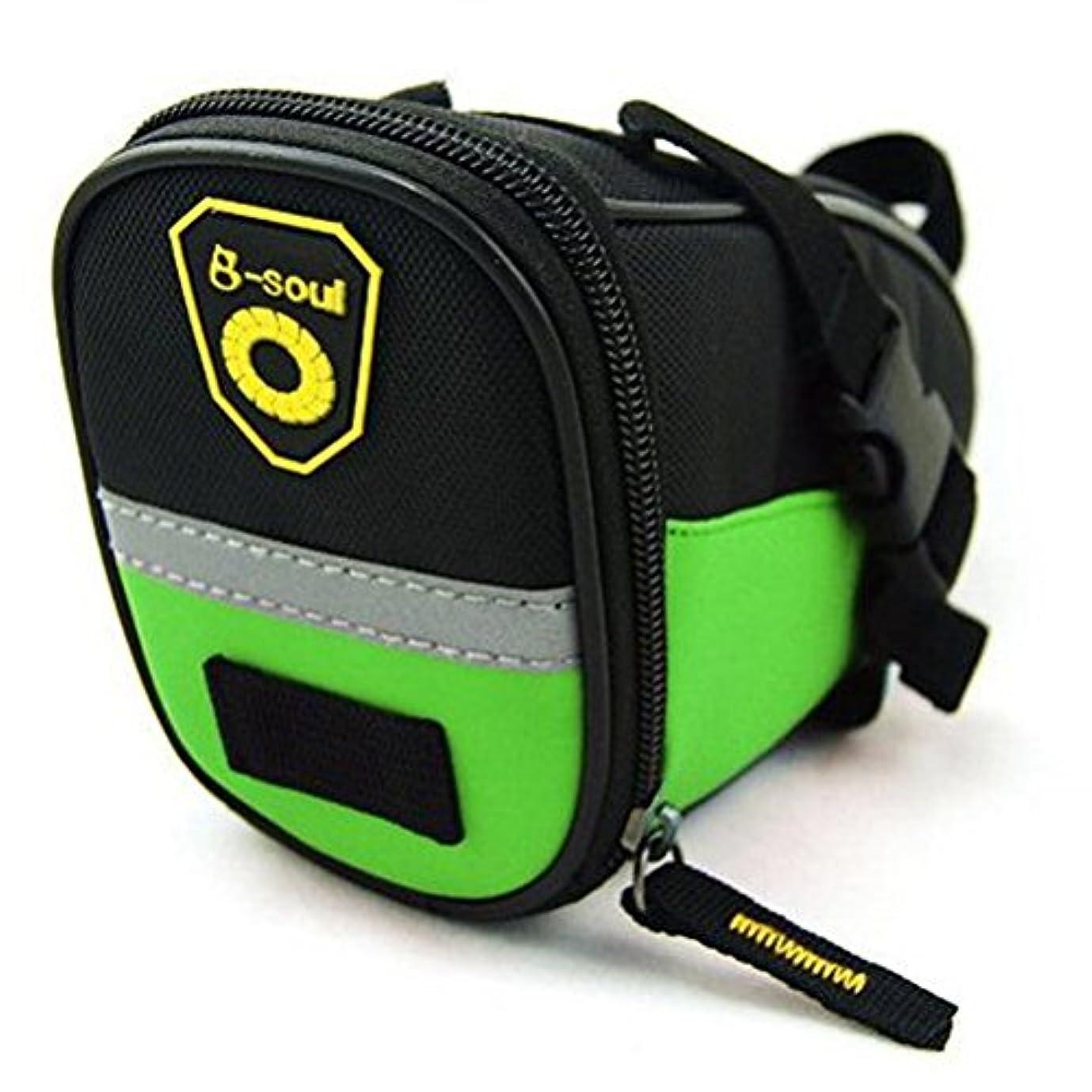不合格ほぼくるくるsponeed Cycling Seat Pouch Bicycle Bike Saddle Bag Rear Packs Tools Pocket 6 Colors