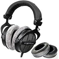 Beyerdynamic dt-990-pro-250ヘッドフォンwith dekoniオーディオFenestrated Elite Sheepkin耳パッドセット