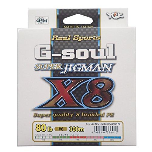 よつあみ(YGK) G-soul SUPER JIGMAN X8 300M ハンガーパック  80LB(6号)