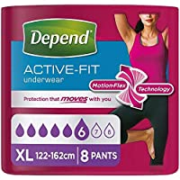 Depend Real Fit Underwear Female X Large 8