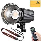Godox LEDビデオライト SL200W 定常光ライト LED高輝度フィルライト、明るさを調整するワイヤレスリモコン、ビデオ撮影/結婚式の写真撮影/インタビューの照明/静物撮影のための 光源を提供する