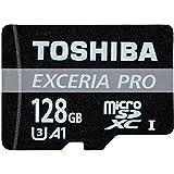 Amazon.co.jp東芝 Toshiba プロフェッショナル最大読出/書込速度95MB/s microSDXC 128GB 超高速U3 4K アプリ最適化 Rated A1対応 [バルク品]