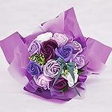 シャボンフラワー (ソープフラワー) ブーケ 花束 プレゼント 母の日 出産祝い 結婚祝い お見舞い ...