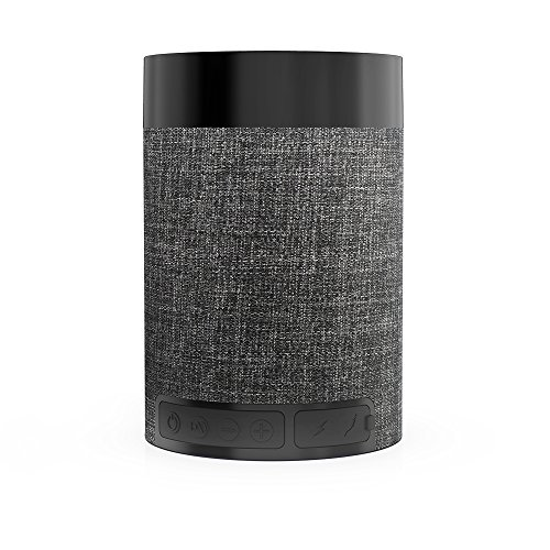 Bluetooth スピーカー コンパクト Bluetooth4.2 8時間/マイク搭載/ワイヤレス ブルートゥース 黒