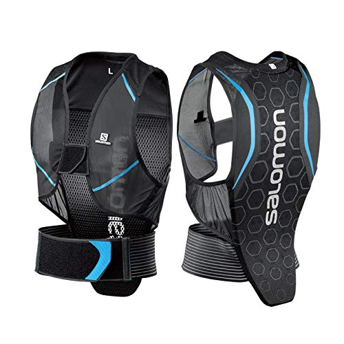 サロモン(SALOMON) スキー スノーボード プロテクター メンズ FLEXCELL MEN Black/Blue Sサイズ L39139100