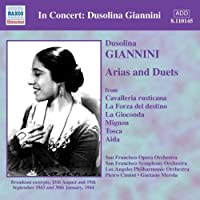 Arias & Duets by V. Giannini (2013-05-03)