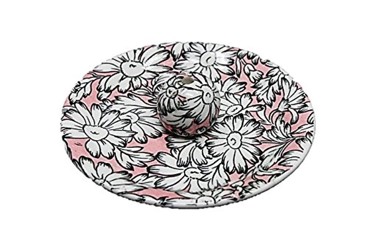 マネージャーファイターラッチ9-22 マーガレットピンク 9cm香皿 お香立て お香たて 陶器 日本製 製造?直売品