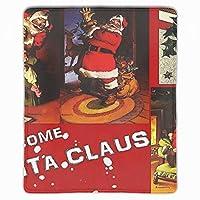 マウスパッド おしゃれ 高耐久性 滑り止め サンタクロースクリスマス 防水 PC ラップトップ 水洗い レーザー 光学式 25*30cm