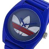 アディダス ADIDAS サンティアゴ SANTIAGO クオーツ メンズ 腕時計 ADH9053 ガンメタ/ブルー