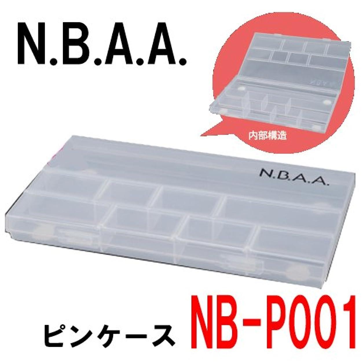 見る人乳製品解決するN.B.A.A. NB-P001 ピンケース