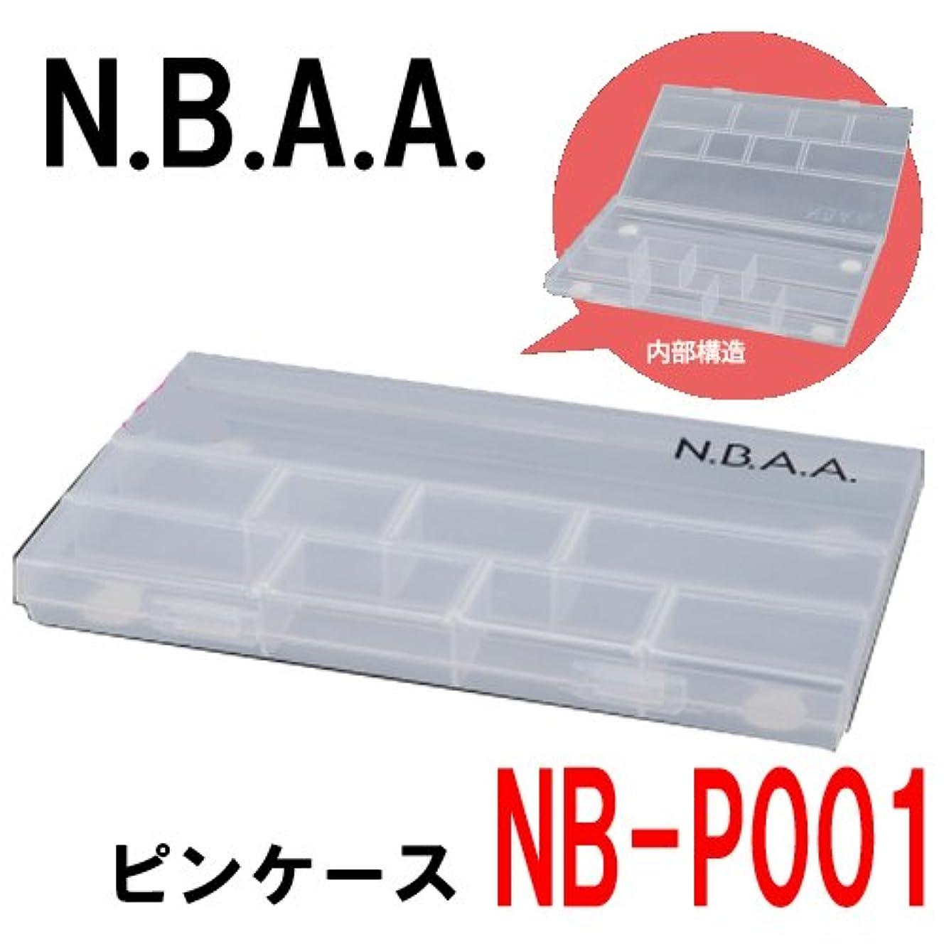 皮肉な頭痛福祉N.B.A.A. NB-P001 ピンケース