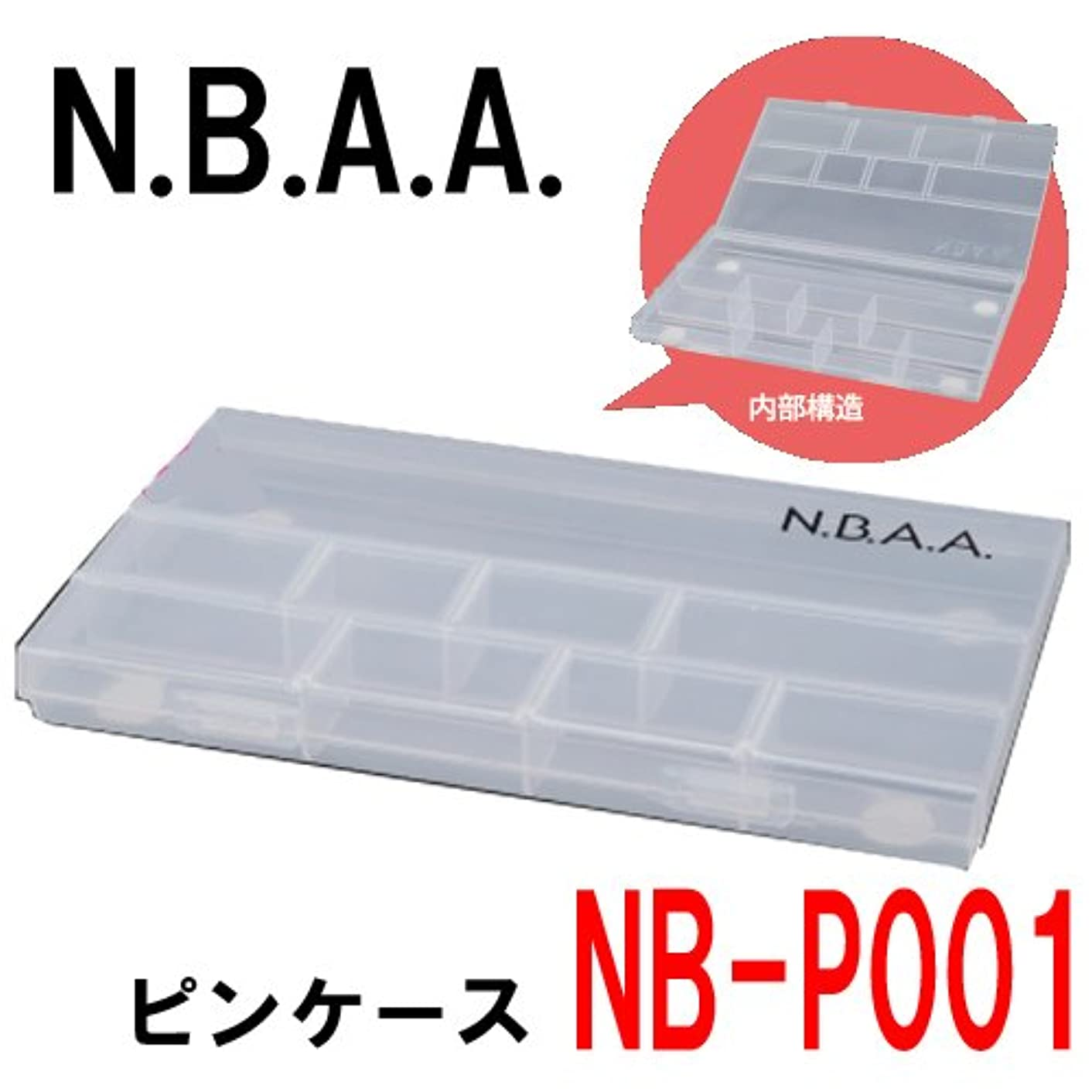 衰える連鎖画面N.B.A.A. NB-P001 ピンケース