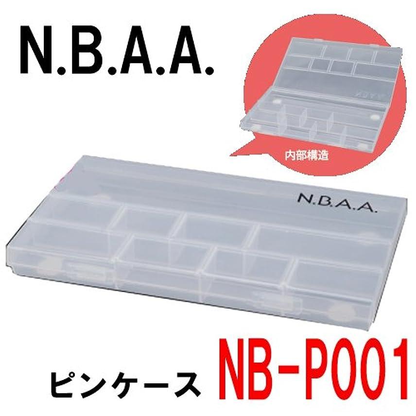 リテラシー文明背が高いN.B.A.A. NB-P001 ピンケース