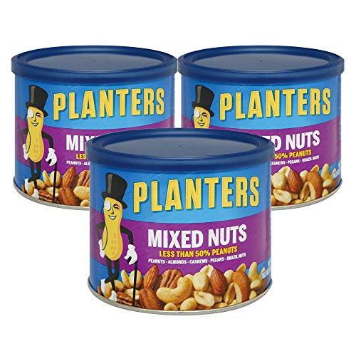 アメリカお土産 プランターズ PLANTERS ミックスナッツ3缶セット