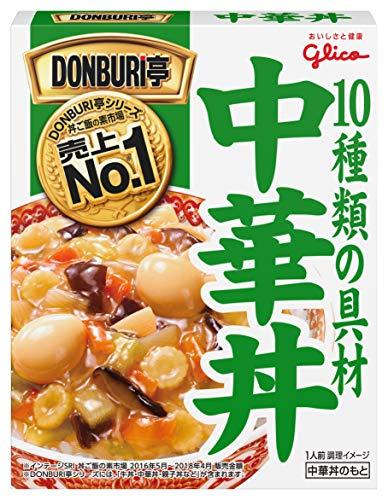 グリコ DONBURI亭 中華丼 210g×10個
